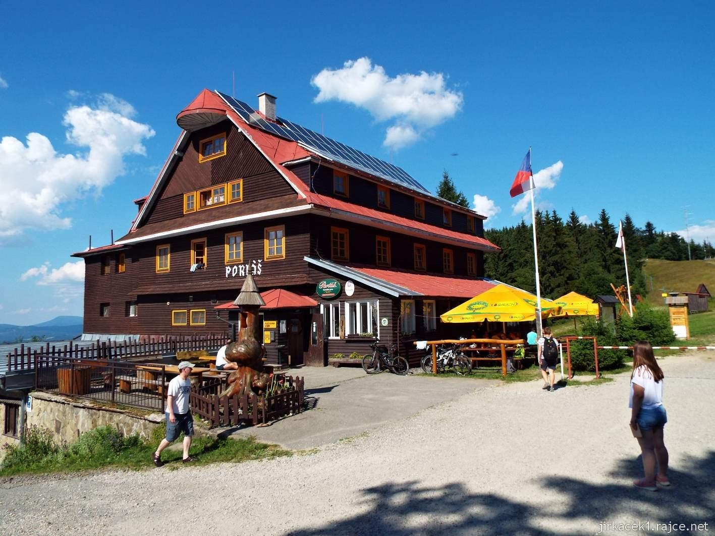 Hotel Portáš - celkový pohled