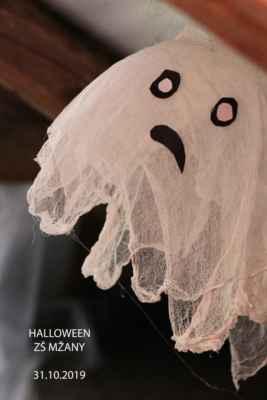 ZŠ Mžany - 2019/10 - Halloweenská noc ve škole