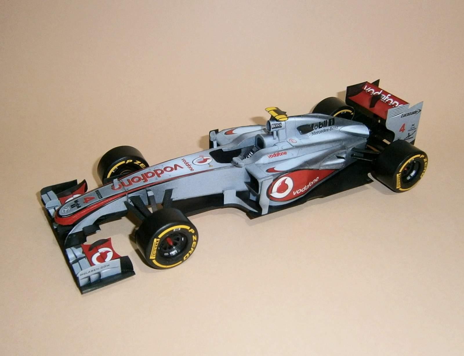 McLaren MP4-27 - L.Hamilton 2012