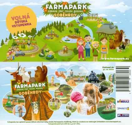 V průběhu roku jsme nasbírali několik volných vstupenek pro děti do Farmaparku Soběhrdy, ale až na začátku října vyšla volná sobota na výlet.