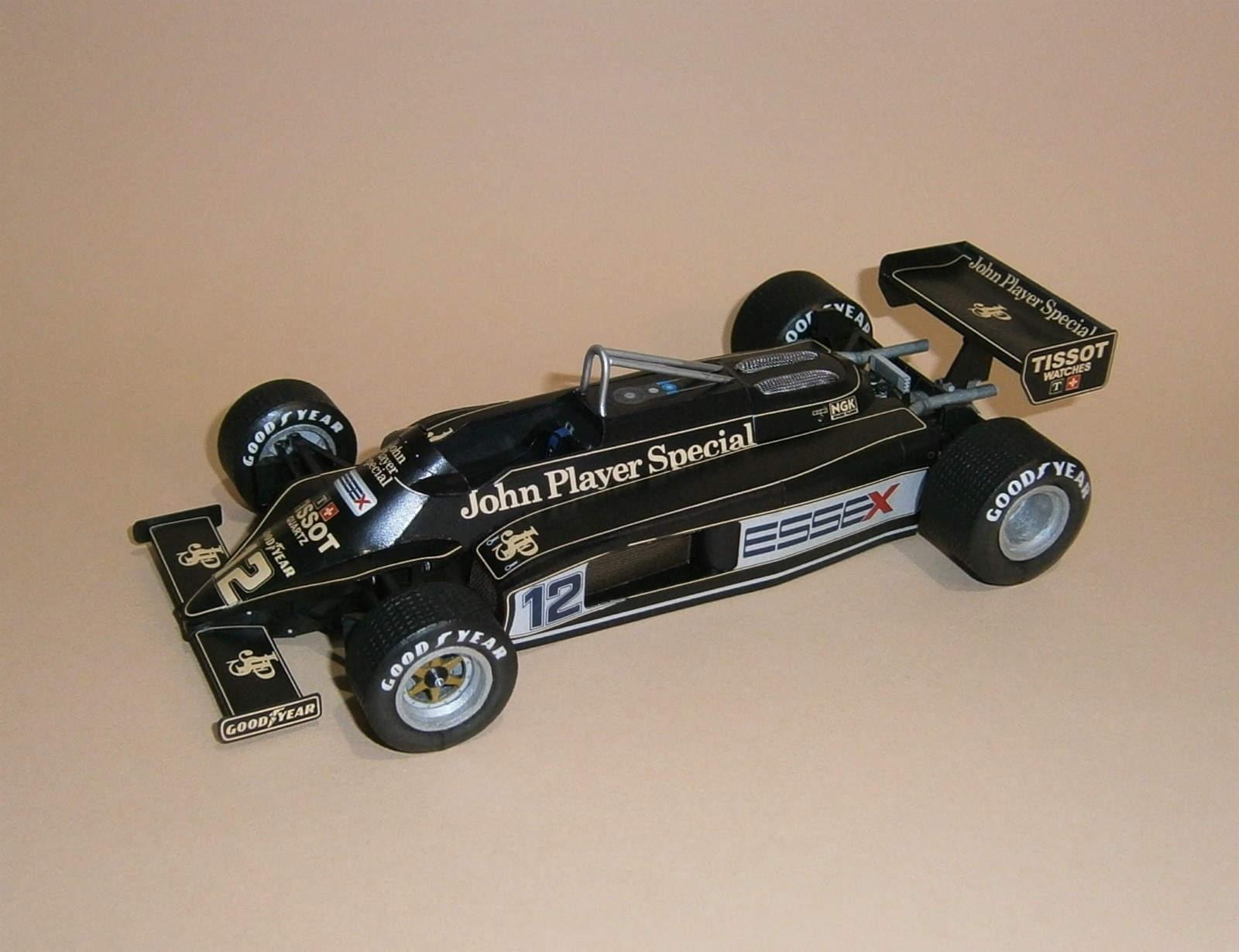 Lotus 87 Ford - N.Mansel, GP Canadian 1981