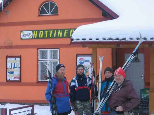 Start v Sobiňově.