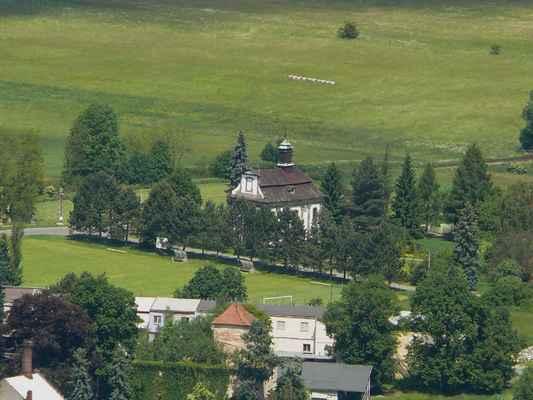 kostel jana nepomuckého ve velkém valtinově