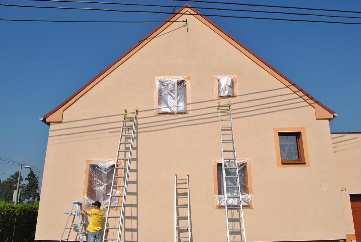 Nástřik fasády
