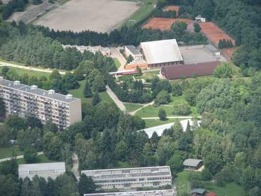 Golf 2008 Pavouk 019 - Minigolf na Lesné. Tady jsem pracoval 27 let.