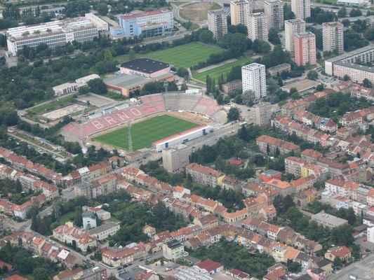 Fotbalový stadion Zdrojovka Brno